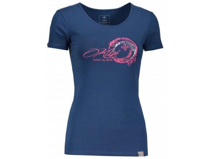 Dámské triko Kilpi Bubble tmavě modrá
