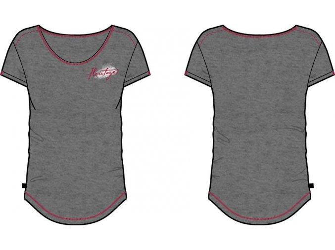 Dámské triko Alpine pro Gloria LTSK228779PB