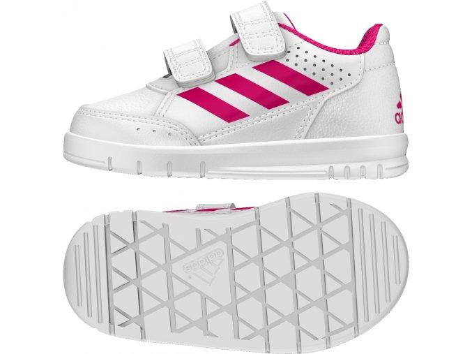 Dětská obuv  adidas AltaSport CF I BA9515