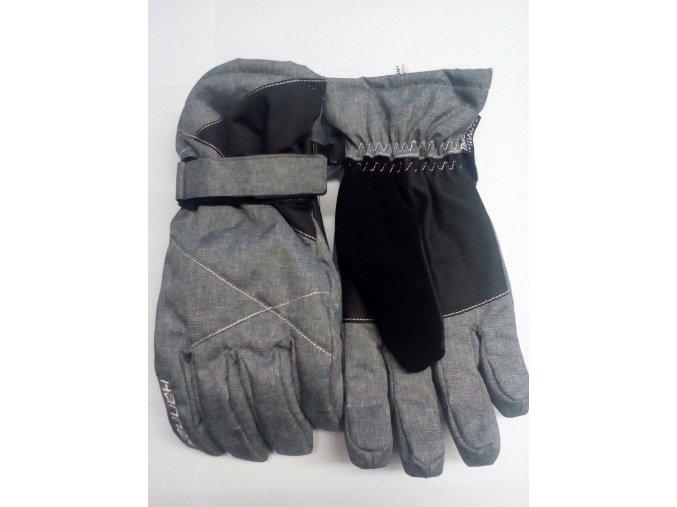 Hannah Pammy cloudburst mel / anthracite Dámské rukavice