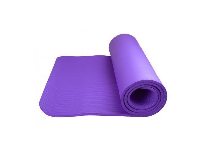 Cvičební podložka Power system Yoga Mat plus fialová