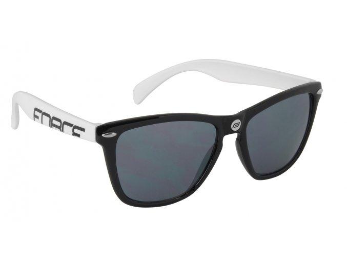 Brýle FORCE FREE černo-bílé, černá laser skla 91030