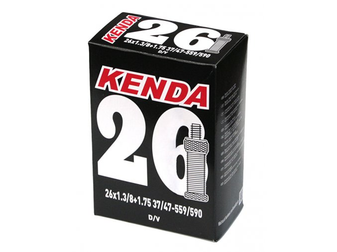 Duše KENDA 26x1 3/8 (32/40-584/590) DV 35 mm
