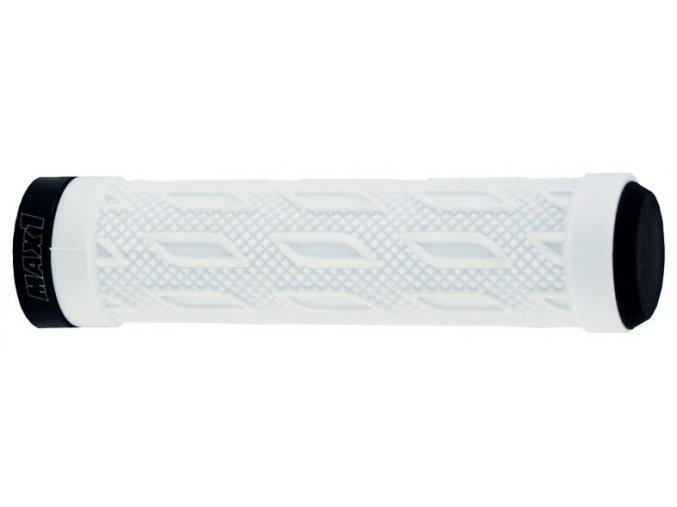 Gripy MAX1 s jednostranným zámkem bílé