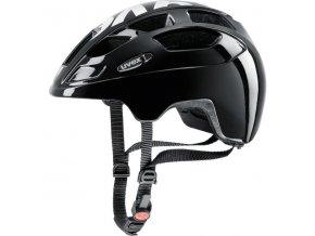 Dětská helma UVEX Finale black white velikost 51 -55