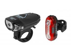 Sada světel Force Express USB přední + zadní 45408