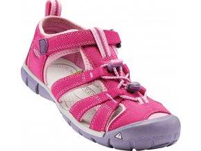 Dětské sandále Keen Seacamp very berry/lilac chiffo