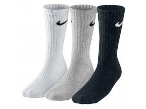 Ponožky Fitness Nike Crew SX4508 šedá