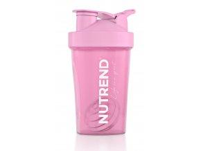 Šejkr Nutrend 0,4l růžový