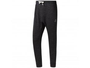 Pánské Kalhoty Reebok TE MARBLE GROUP PAN D94194 černá
