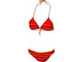 Dámské plavky Stuf Ethno 2-L B Cup červená/oranžová /tyr