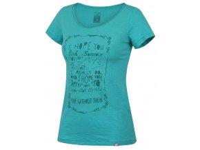 Dámské  triko Hannah Brigh aqua