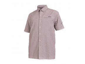 Pánská košile Northfinder Terrence 103181-279 černo-bílá
