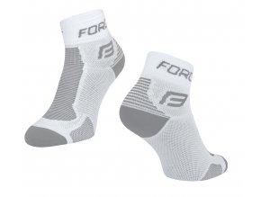 Ponožky Force 1, bílo šedé 90101