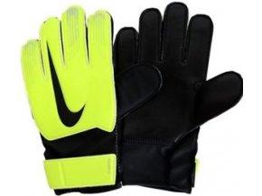 Brankářské rukavice nike Junior match  GS0368 702 neon žlutá