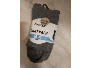 Ponožky Hitec Ligit pack light grey