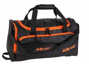 V3TEC Sportovní taška PERFORMANCE černá/oranžová