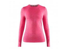 Dámské funkční triko CRAFT Fuseknit Comfort LS růžová