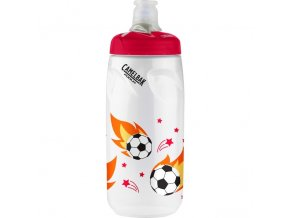 láhev Camelbak Podium Youth 0,6 Soccer Flames
