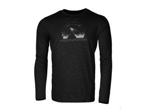 Pánské triko Northfinder Ayaan černá