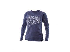 Dámské triko Northfinder Romina tmavě fialová