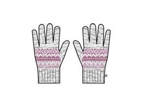 Pletené rukavice Alpine pro Lore UGLM011411