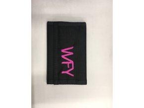 peněženka 12  WFY černá růžová 1