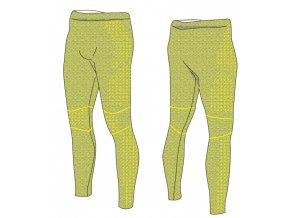 Pánské funkční kalhoty R2 atf012a šedoneonové