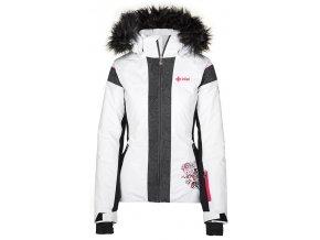 damska zimni lyzarska bunda kilpi delia w bila kolekce 2019