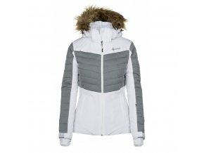 Dámská zimní bunda Kilpi Breda-W bílá