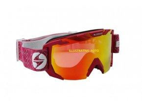 Lyžařské brýle Blizzard  925 MDAZO raspeberry matt smoke2