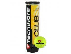 Tenisové míče Tecnifibre Club  a4 kusy