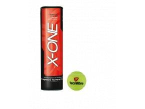 Tenisové míče Tecnifibre X-One 4 kusy