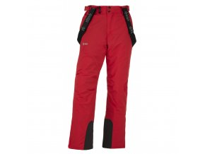 Pánské lyžařské kalhoty Kilpi Mimas červená