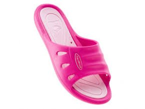 Juniorské pantofle Aquawave Maura JR fuchsia/ light fuchsia