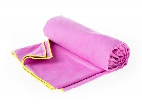 Rychleschnoucí ručník Aquawave Menomi purple lime