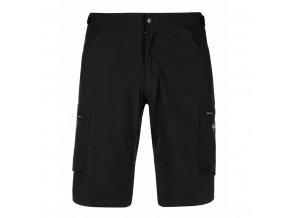 Pánské cyklistické kalhoty Kilpi Trackee-M  černá