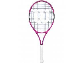 Wilson Burn Pink 25 2017 - dětská tenisová raketa