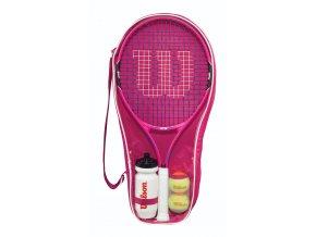 Wilson Burn Pink Starter Set 25
