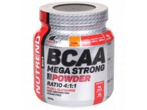 Nutrend BCAA megastrong 500 g mega Strong powder 4:1:1