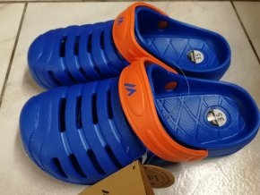 Juniorská obuv Martes Jardim JR Royal blue/ red orange