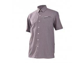 Pánská košile Northfinder Terrence Ko 3020 301 tmavě šedá