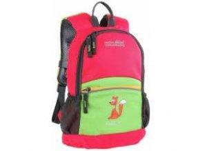 Juniorský batoh High Colorado Fox 8l  tmavě růžová zelená