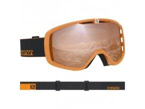 Lyžařské brýle Salomon AKSIUM ACCESS oranžová/černá