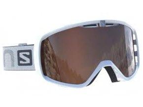 Lyžařské brýle Salomon AKSIUM ACCESS bílá/šedá