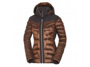 Dámská zimní bunda Northfinder Vyoleta goldenyellow