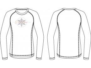 Dámské triko Alpine pro Tara LTSP503000PA