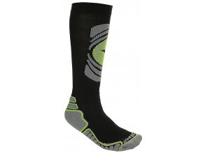 Ponožky Hi-tec Arctica black / dark grey/green
