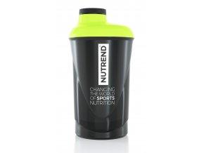 Šejkr Nutrend 0,6l černo-fluo-zelený