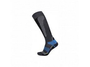 Husky Snow wool  lyžařské ponožky modrá